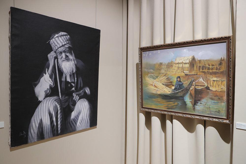 من بابل الى بغداد.. معرض تشكيلي في ضيافة موسكو