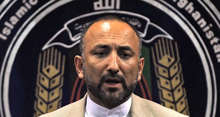 مستشار الأمن القومي الأفغاني محمد حنيف أتمر