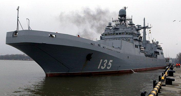 حاملة الطائرات الروسية إيفان غرين
