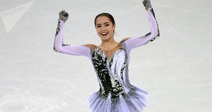 المتزلجة الروسية ألينا زاجيتوفا