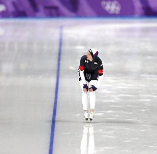 المنتخب الأولمبي للتزحلق السريع لأمريكا