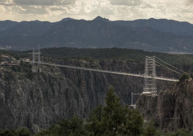 جسر رويال جورج في كولورادو، الولايات المتحدة