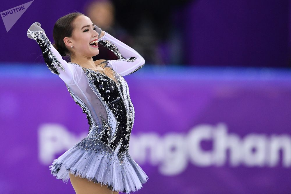 الروسية ألينا زاغيتوفا - التزحلق الفني على الجليد، الألعاب الأولمبية في كوريا الجنوبية 2018