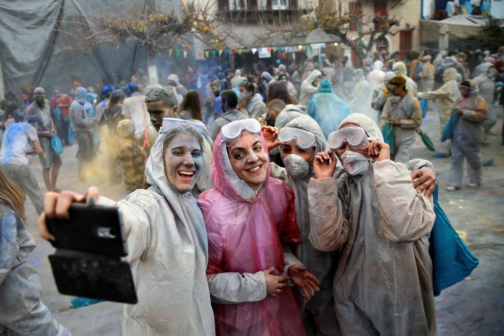 معركة الطحين في اليونان، 19 فبراير/ شباط 2018