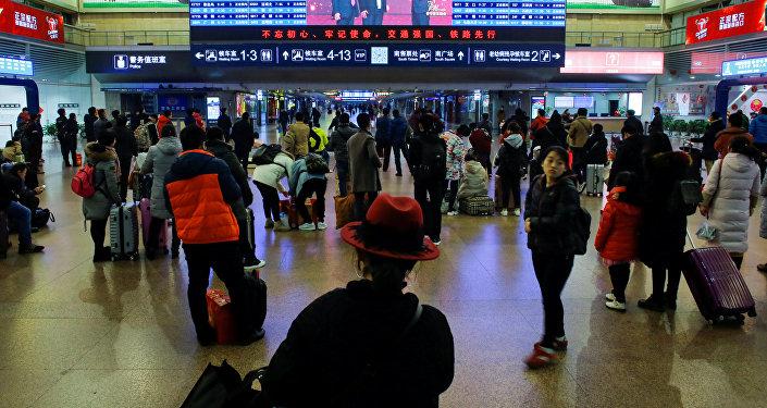 محطة قطارات صينية