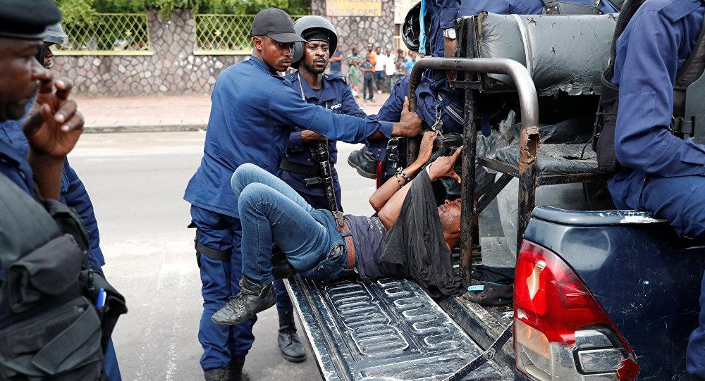 مظاهرات الكونغو