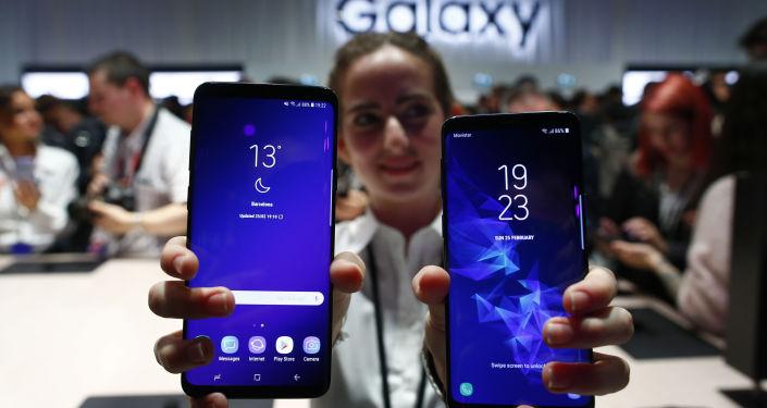 عرض هواتف سامسونغ الجديدة S9 و S9+ في إسبانيا