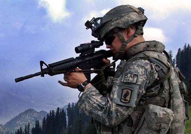 القوات الامريكية في أفغانستان