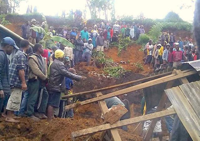 زلزال غينيا المدمر