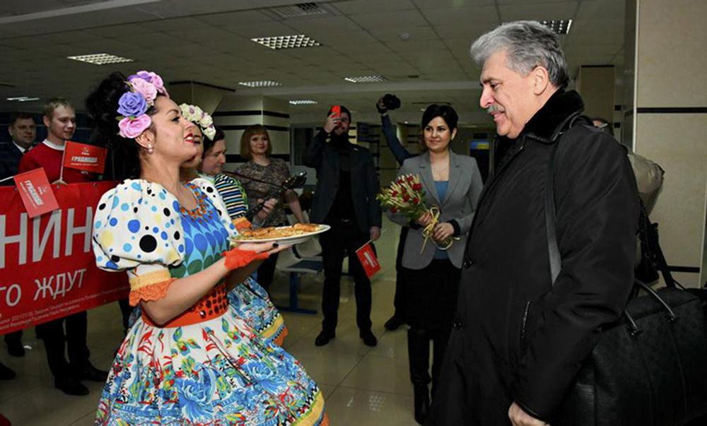 بافيل غرودينين مرشح لانتخبات الرئاسة الروسية لعام 2018