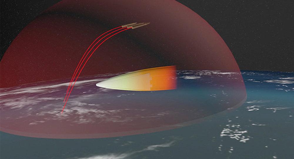 صورة غرافيك للصاروخ الروسي المجنح المزود بمحرك نووي
