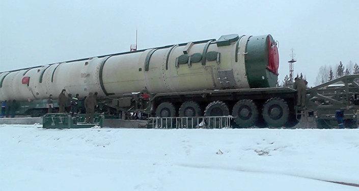 منظومة الصواريخ الجديدة العابرة للقارات سارمات