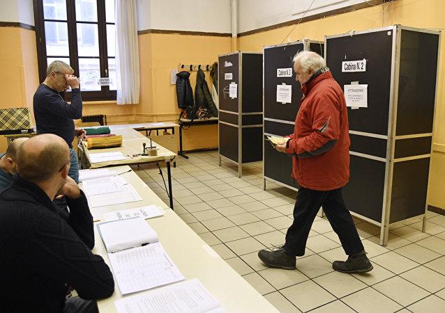 الانتخابات البرلمانية في إيطاليا