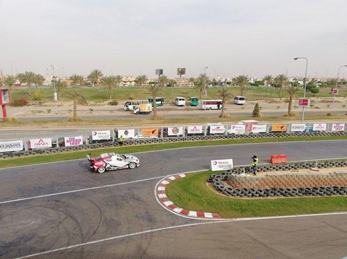 سباق السيارات  تي إس تي في العاصمة المصرية القاهرة في مارس/آذار 2018