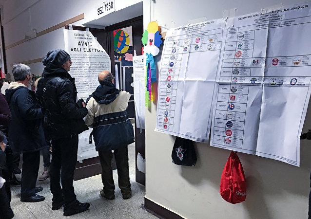 الانتخابات الإيطالية
