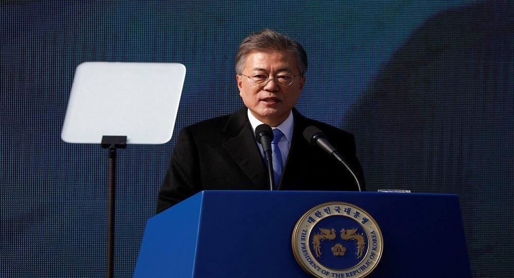 رئيس كوريا الجنوبية مون جاي إن
