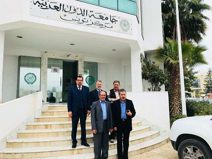 التقي رئيس اللجنة التحضيرية للمؤتمر الوطني العام والجامع الليبي، محمد عبد السلام العباني