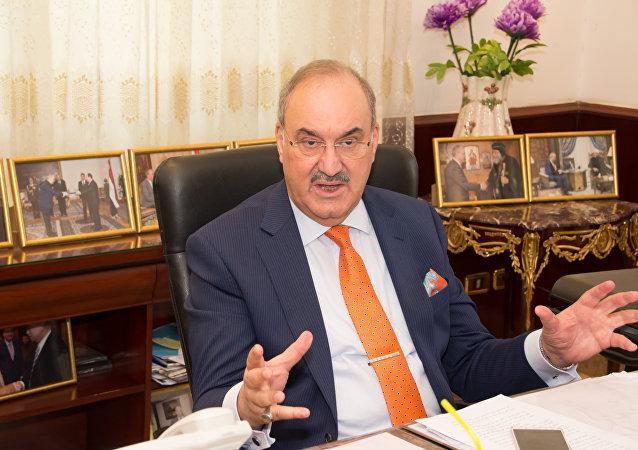 السفير العراقي في مصر حبيب الصدر