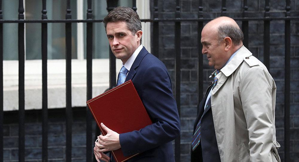 وزير الدفاع البريطاني غافين ويليماسون