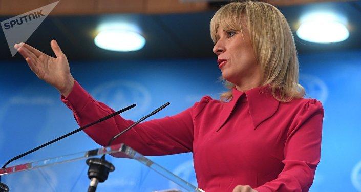 المتحدثة الرسمة باسم الخارجية الروسية ماريا زاخاروفا
