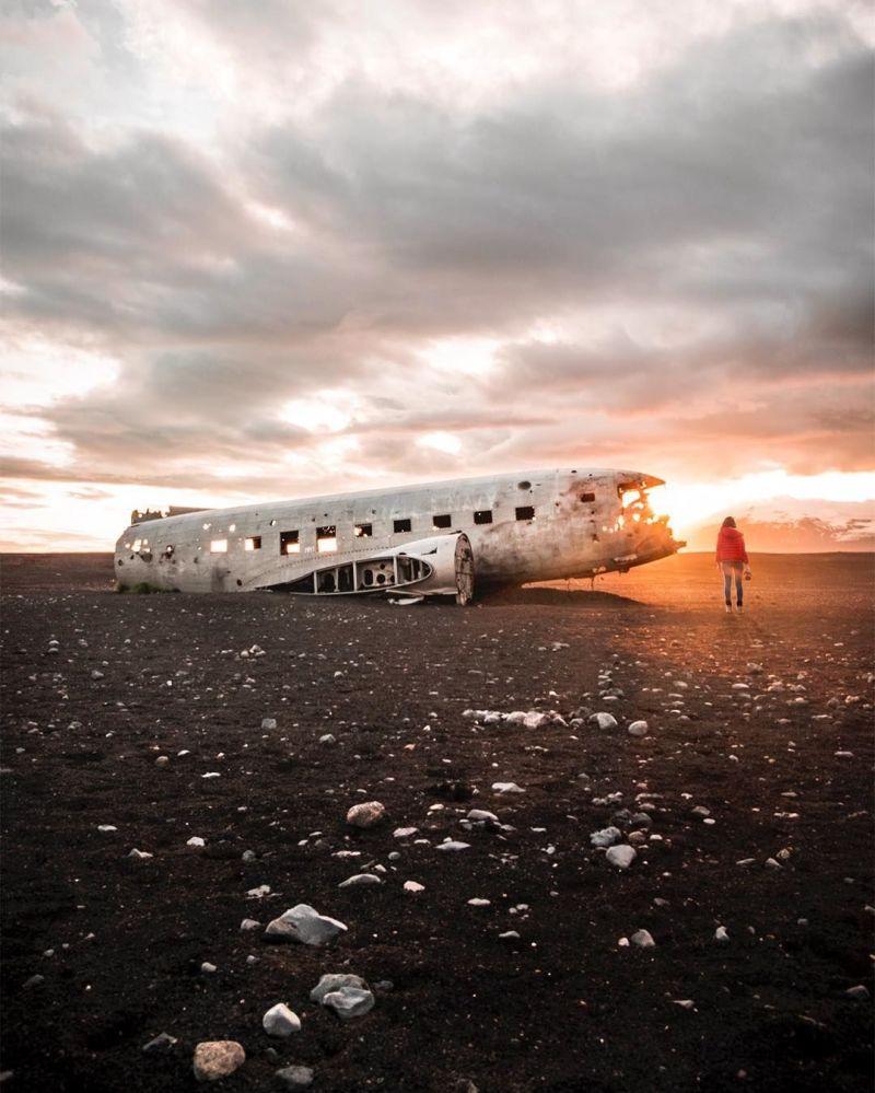 صورة في أيسلندا لمشروع تصوير بعيدا عن البيت