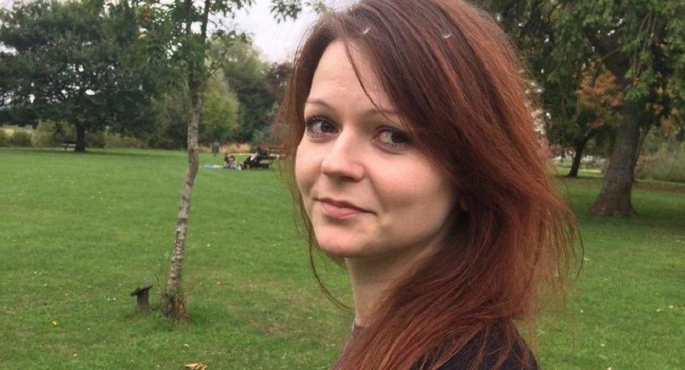 ابنة عميل المخابرات البريطانية يوليا سكريبال