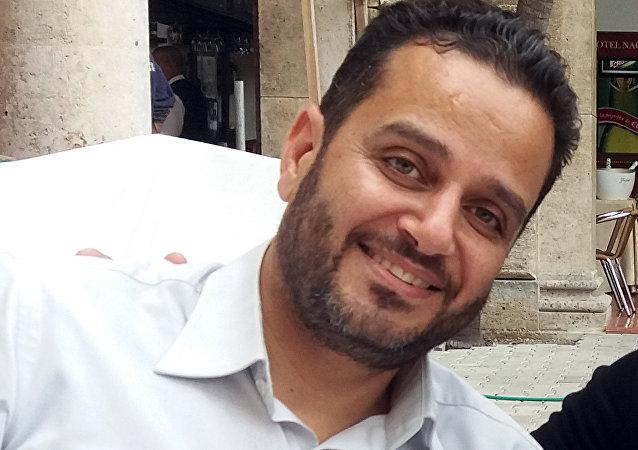 الإعلامي السوري فادي معروف