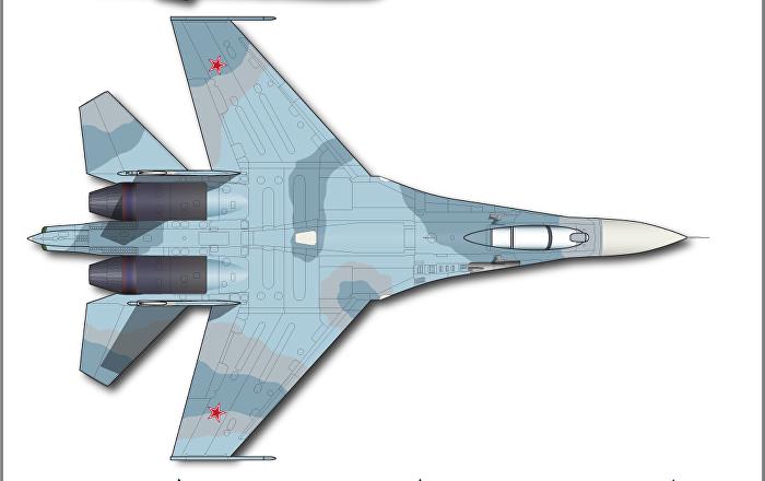 مقاتلة سو-27 الروسية