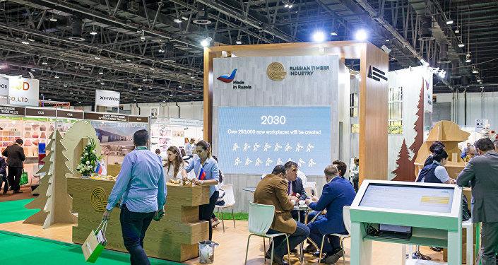 ناقشت روسيا والإمارات العربية المتحدة آفاق تصدير منتجات صناعة الأخشاب الروسية