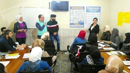 انطلاق دورات مجانية لتعليم اللغة الروسية في حلب السورية