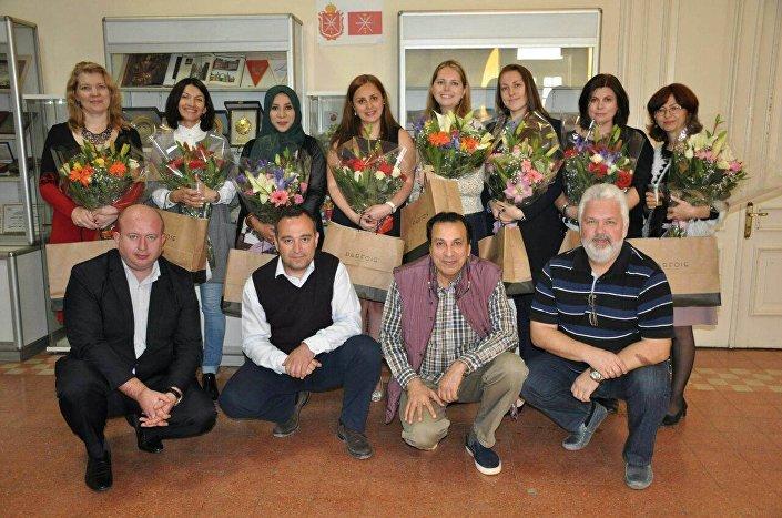 احتفالية المركز الثقافي الروسي في القاهرة بعيد الأم مارس/آذار 2018