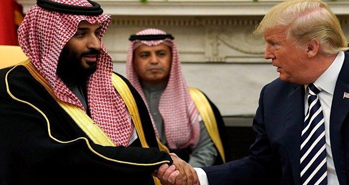ترامب مع ابن سلمان