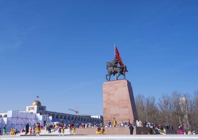 الاحتفال بعيد النوروز في بشكيك، قيرغيزستان 21 مارس/ آذار 2018