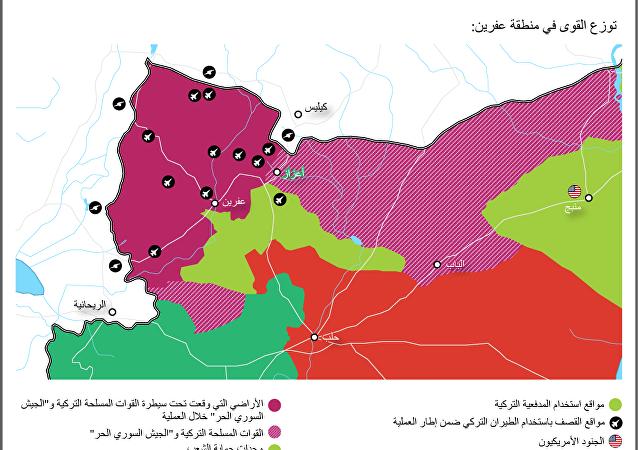 عملية غصن الزيتون التركية في عفرين السورية
