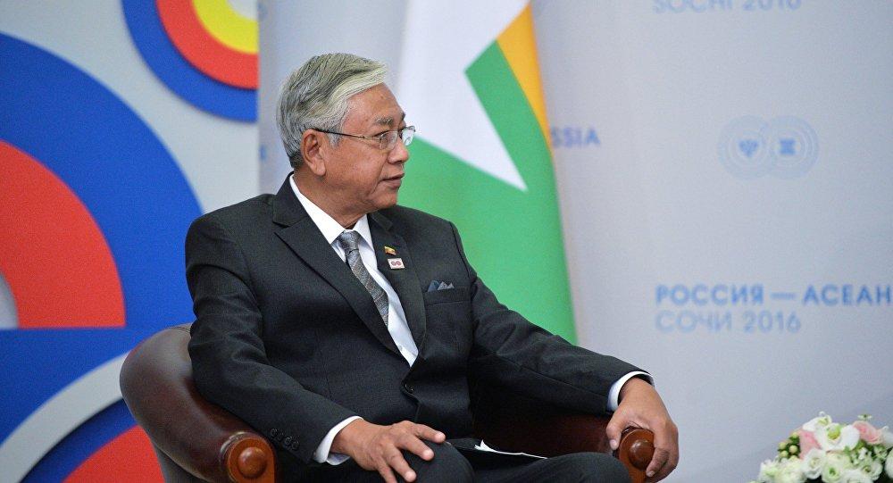 رئيس بورما تين كياو