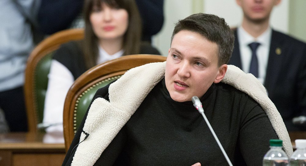 النائبة الأوكرانية ناديجدا سافتشينكو