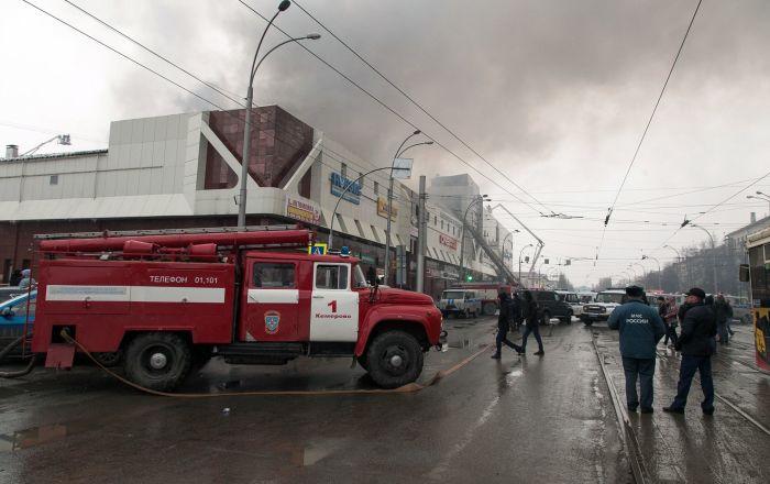 الطوارئ الروسية تعلن السيطرة على الحريق في فلاديكافكاز