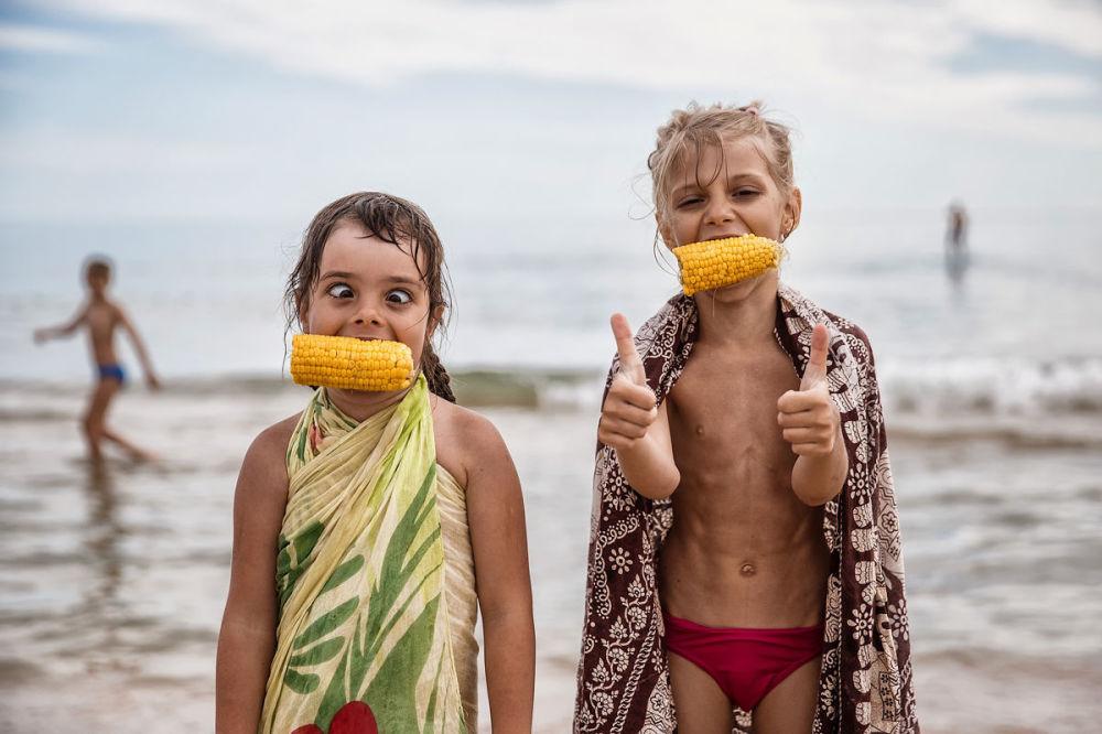 مسابقة أفضل تصوير في روسيا 2017 - صورة الطفولة للمصور فيودور أوبمايكين