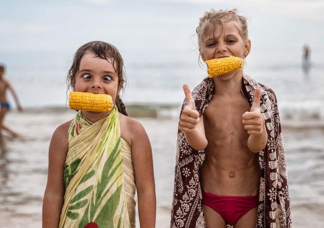 مسابقة أفضل صور روسيا 2017 - صورة الطفولة للمصور فيودور أوبمايكين