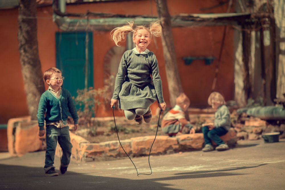 مسابقة أفضل تصوير في روسيا 2017 - صورة القفز مع الحبل للمصورة مارينا سمولينا