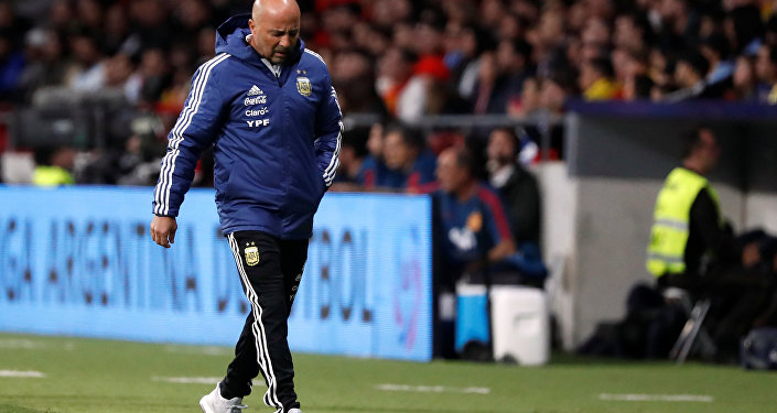 خورخي سامباولي مدرب منتخب الأرجنتين