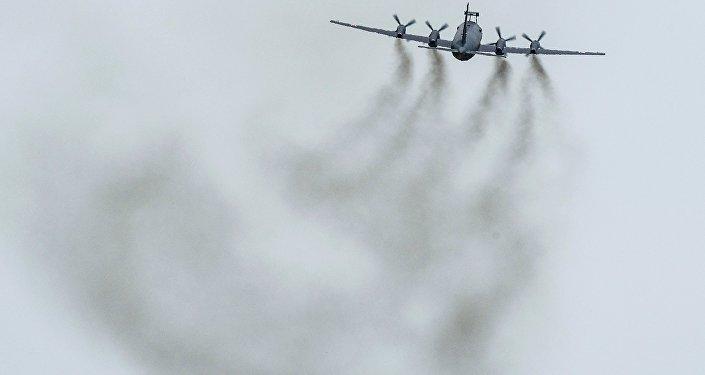 طائرة عسكرية روسية من طراز إيل-38إن