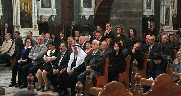 مسيحيو سوريا يحتفلون بعيد الفصح و الشعانين