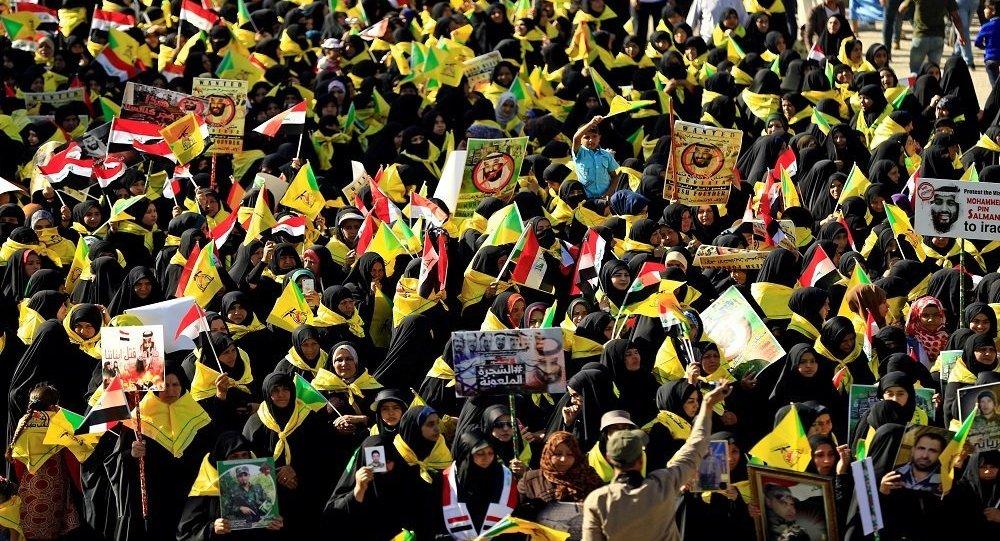 مظاهرات ضد محمد بن سلمان في العراق