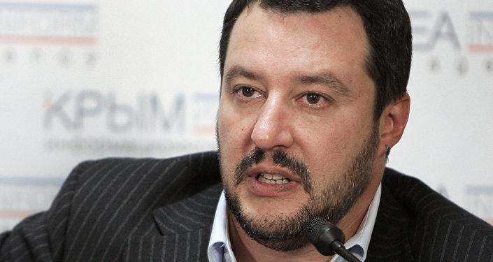 المرشح لشغل منصب رئيس الحكومة الإيطالية، ماتيو سالفيني