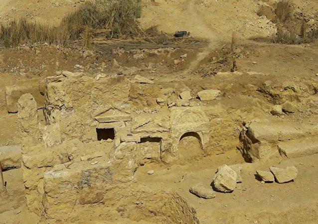 معبد يعود للعصر اليوناني الروماني في واحة سيوة