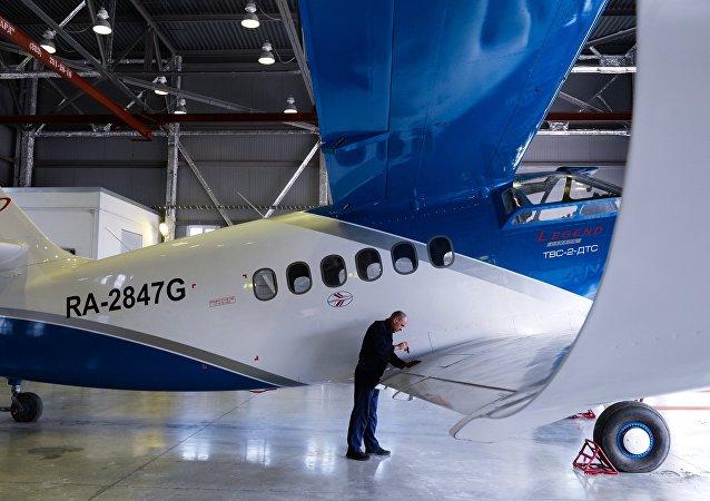 طائرة تي في إس-2دي تي إس