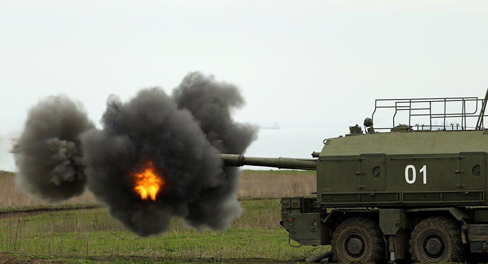 منظومة مدفعية ذاتية الحركة