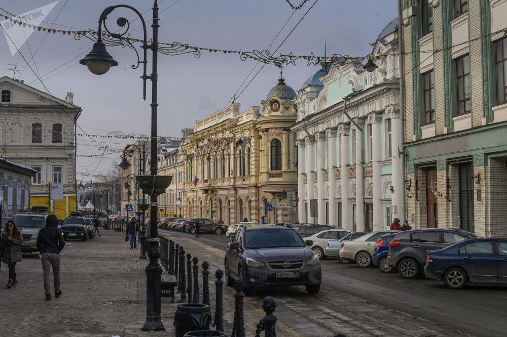 شارع في مدينة نيجني نوفغورود
