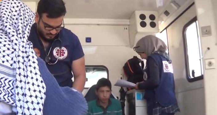الدولة السورية تُأمّن مستلزمات المدنيين الطبية في مناطق الغوطة